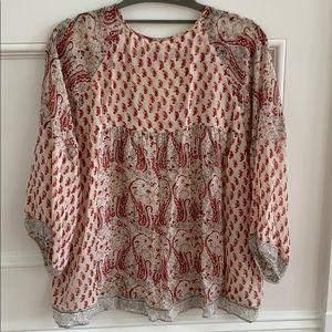 Ulla Johnson Tops - Ulla Johnson georgette blouse Sz 2